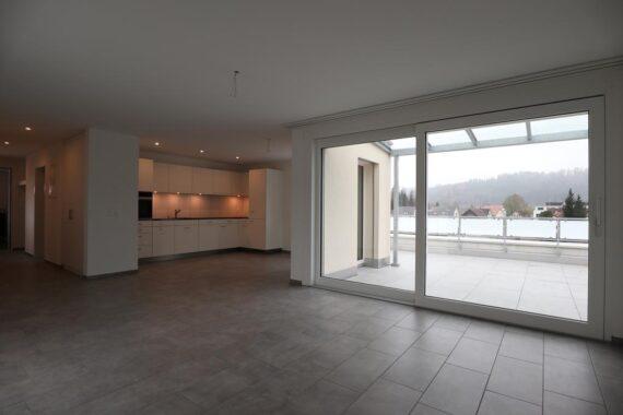 Moderne Wohnung, schöne Aussicht